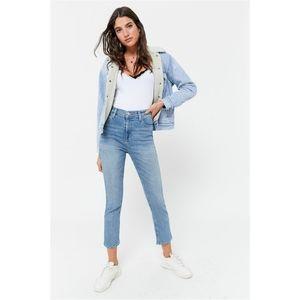 BDG High Rise Girlfriend Crop Jeans